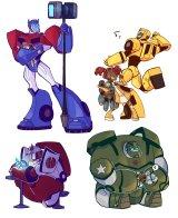 """""""Transformers Animated"""" Stickers für TFNation 2017"""