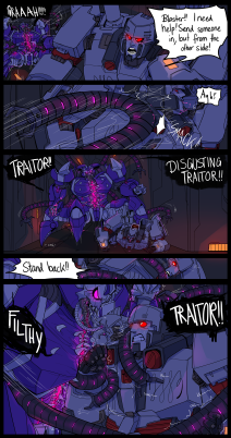 """Transformers"" Fancomicauftrag"