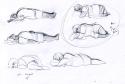 Entwürfe für die Position der Spielfigur