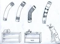 Sprites Hintergrund Gegenstände